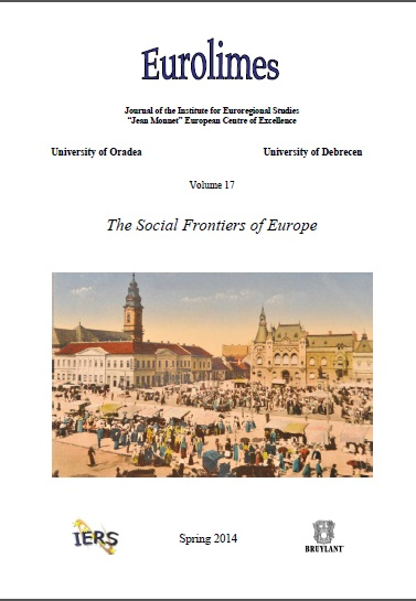 Ethnic Identity and Social Borders. The Case of the Roma in Romania Cover Image