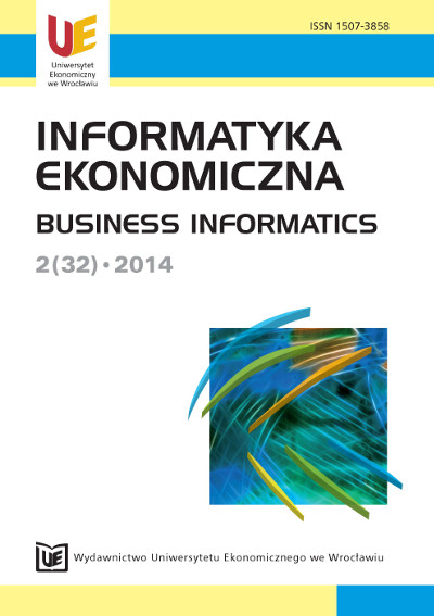 Standard program of bachelor study in Business Informatics – preliminary concept Cover Image