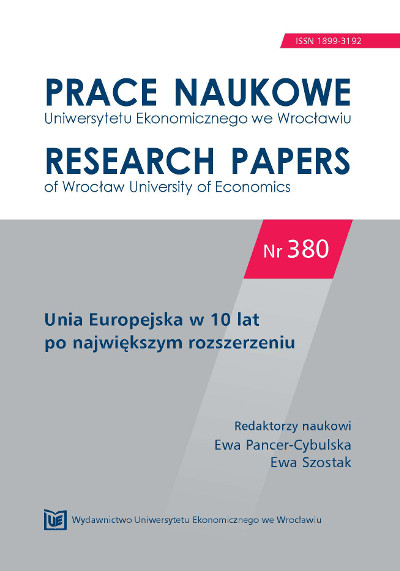 Legal and economic aspects of regional state aid in Poland after the accession to the EU  Cover Image