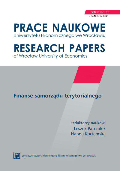 Effectiveness of labor market policy – theoretical and practical aspects  Cover Image