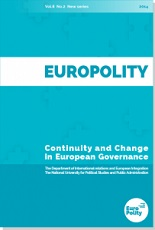 CHANGING FROM WITHIN? THE INTRA-ORGANIZATIONAL DYNAMICS OF EU ENLARGEMENT Cover Image