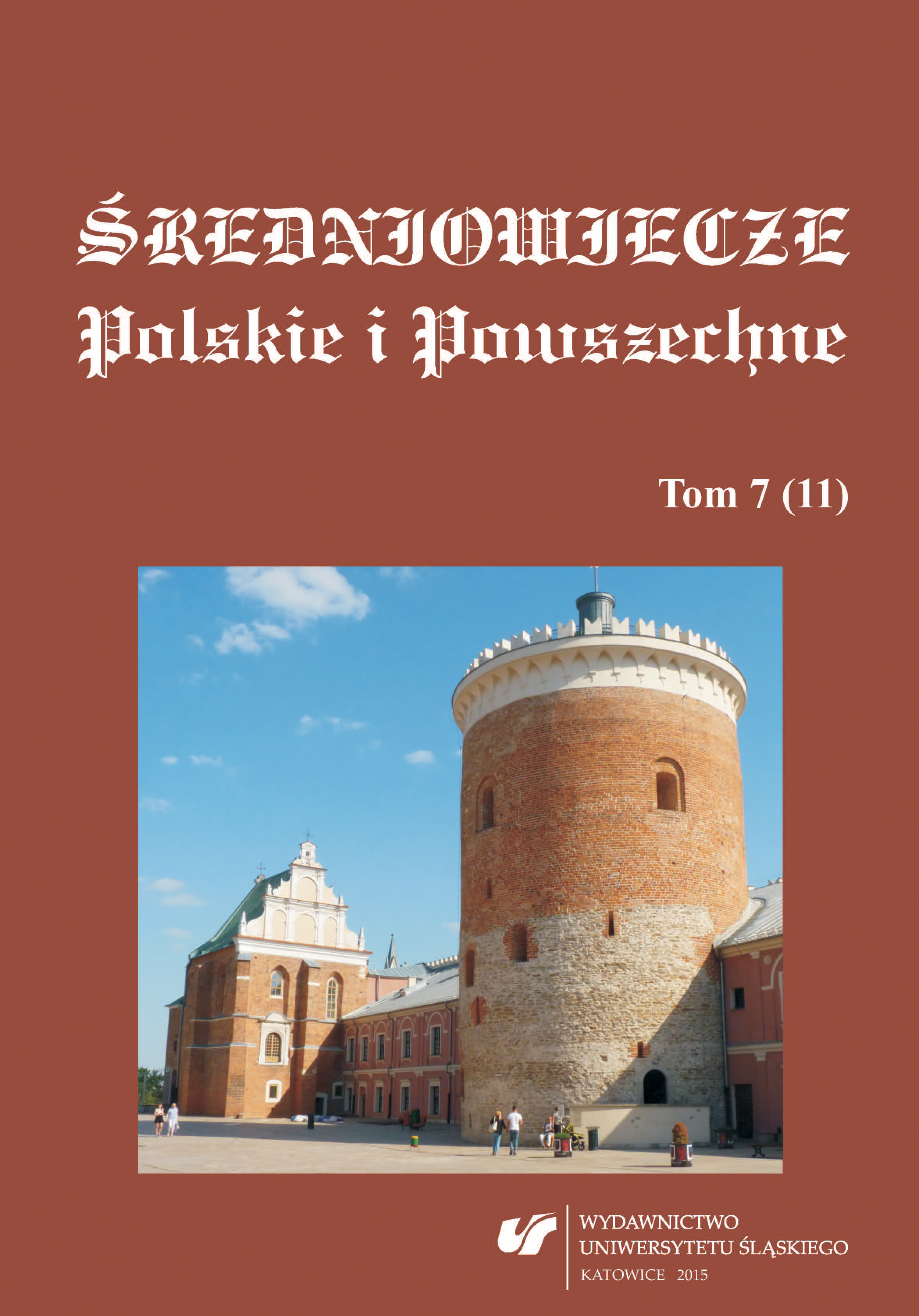 Personal correspondence in the late medieval Poland — attempt at characteristics on the basis of selected source examples Cover Image
