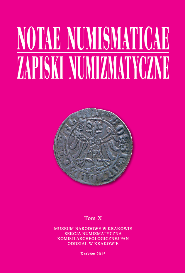 The Chronicle of the Numismatic Cabinet of the National Museum in Krakow (2014) Cover Image