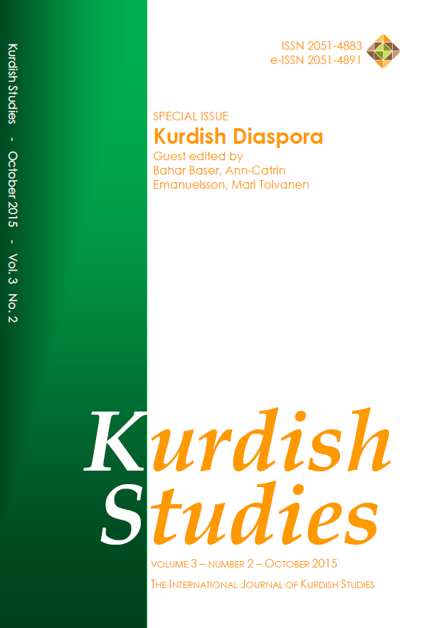 (In)visible spaces and tactics of transnational engagement: A multi-dimensional approach to the Kurdish diaspora Cover Image