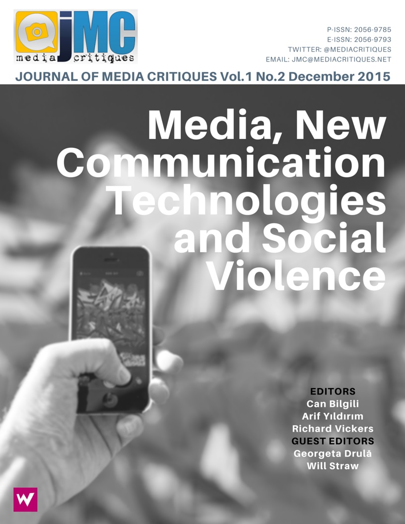 A RESEARCH ON PRESENTATION OF VIOLENCE IN SOCIAL MEDIA: OPINIONS OF FACEBOOK USERS