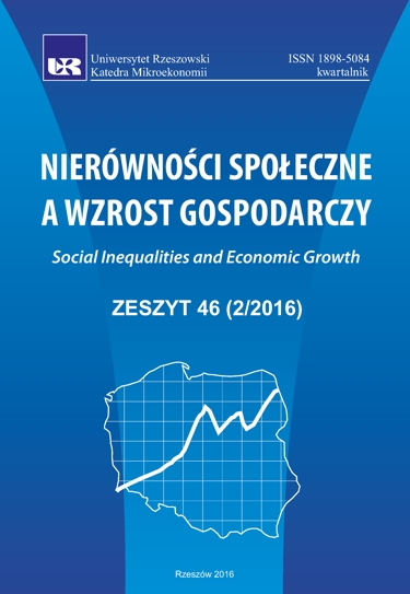 The Emigration and the Intentions of Emigration Processes of Polish Social Capital in the Last Decade Cover Image