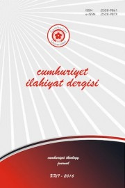 13. Meeting of Tafsir Academics and Symposium of the Studies of Academic Tafsir (27-28 May 2016 Ankara) Cover Image