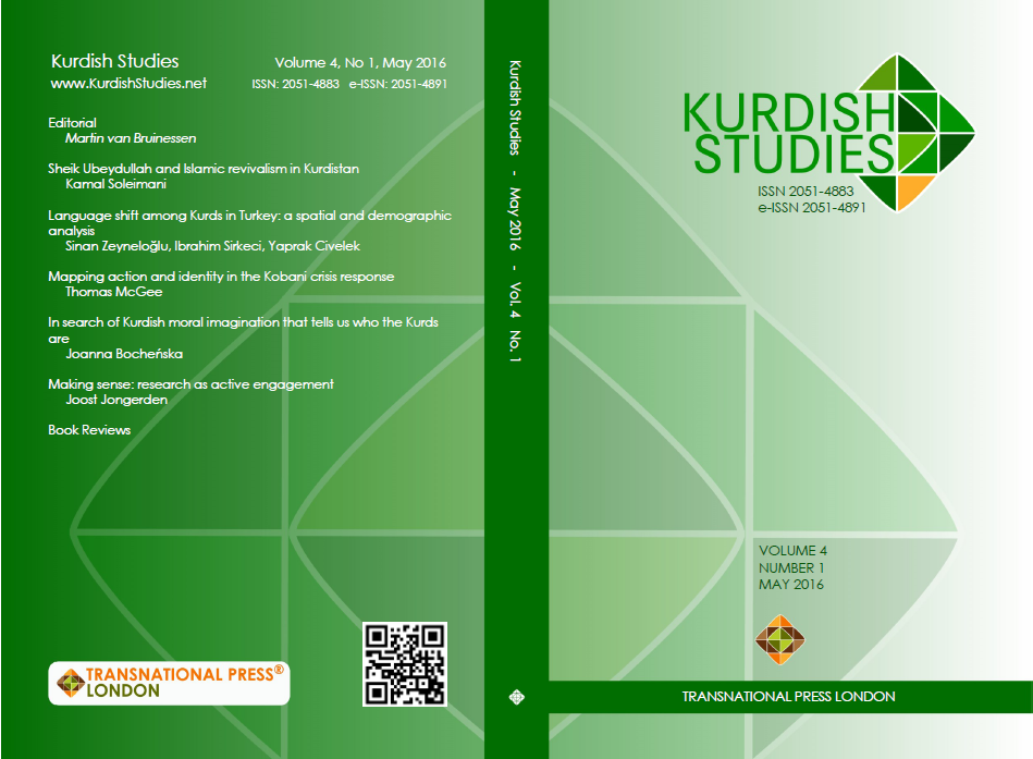 Islamic revivalism and Kurdish nationalism in Sheikh Ubeydullah's poetic oeuvre Cover Image