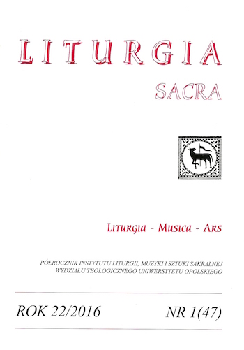 Eucharistic Presence of Christ in the liturgical understanding of the Church of Antioch Cover Image
