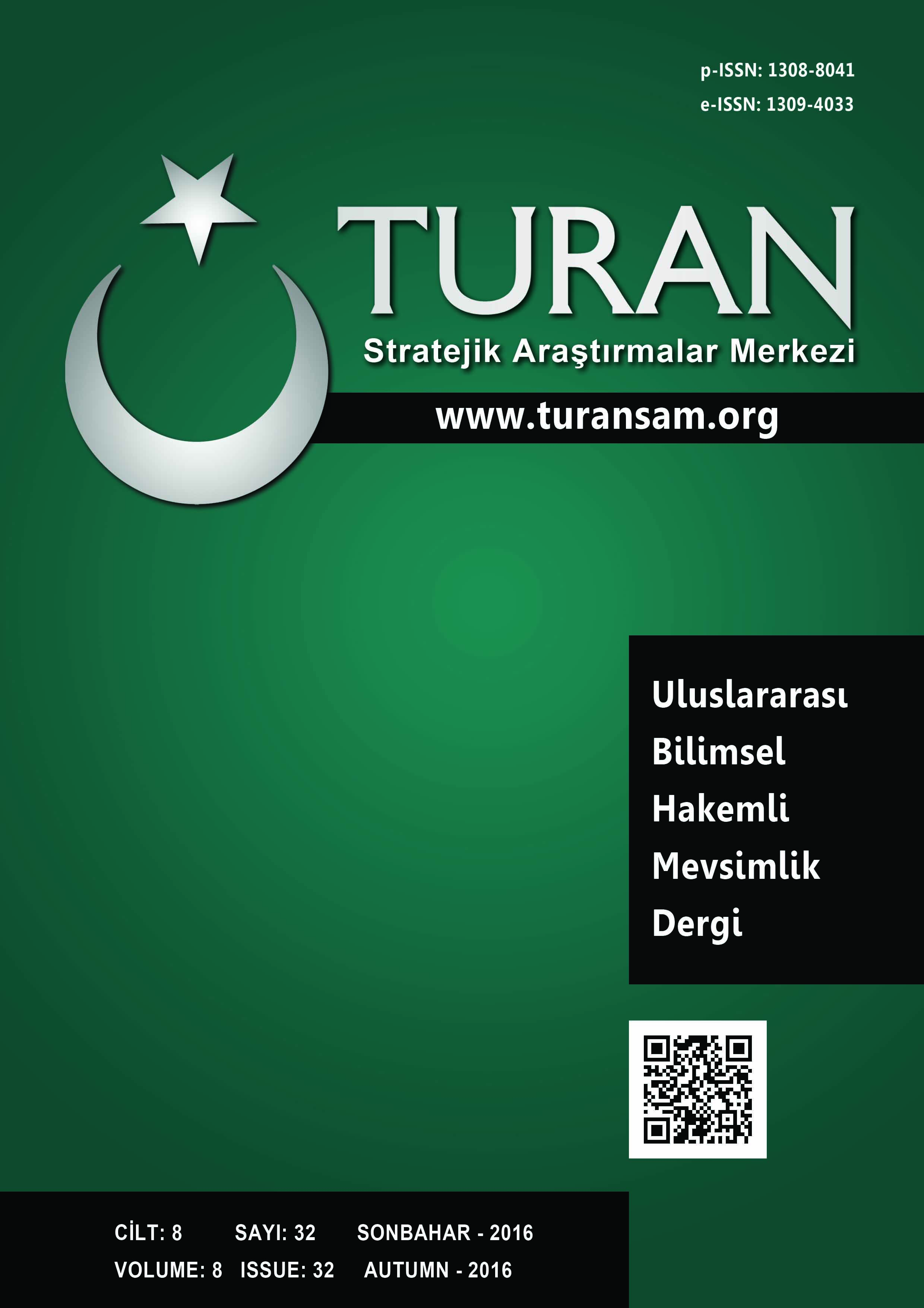 DEVELOPMENT PROCESS OF TOURISM AND URBANISATION IN MANAVGAT Cover Image