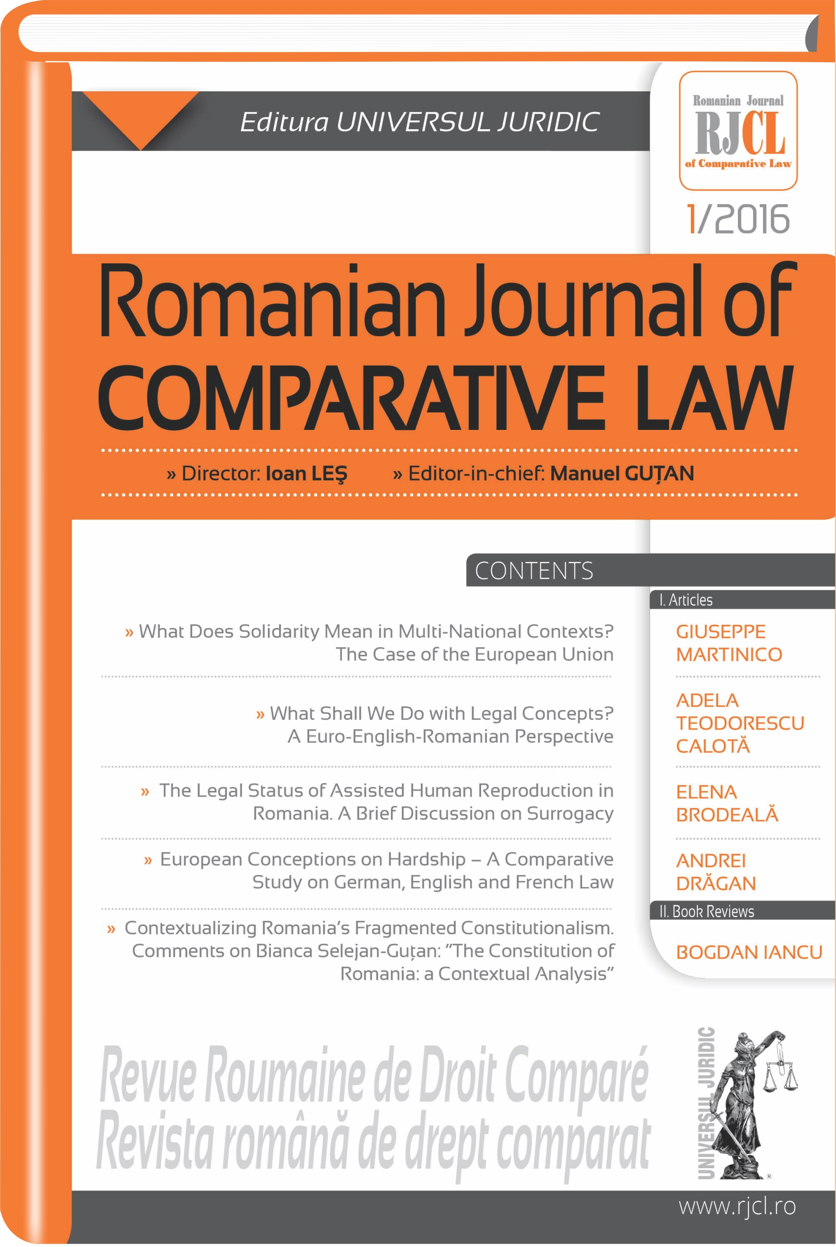 The Legal Status of Assisted Human Reproduction in Romania. A Brief Discussion on Surrogacy Cover Image