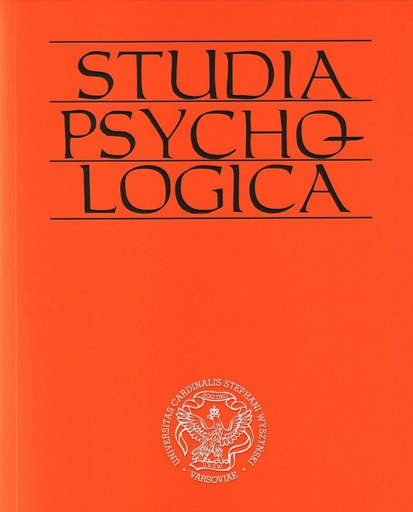 Does history of Polish psychology exist? Multiple facets of the history of psychology Cover Image