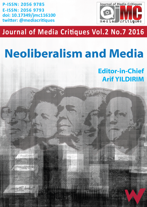 SOCIAL NETWORKS AS DISPOSITIVES OF NEOLIBERAL GOVERNMENTALITY Cover Image