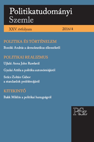 Lying in Politics Cover Image