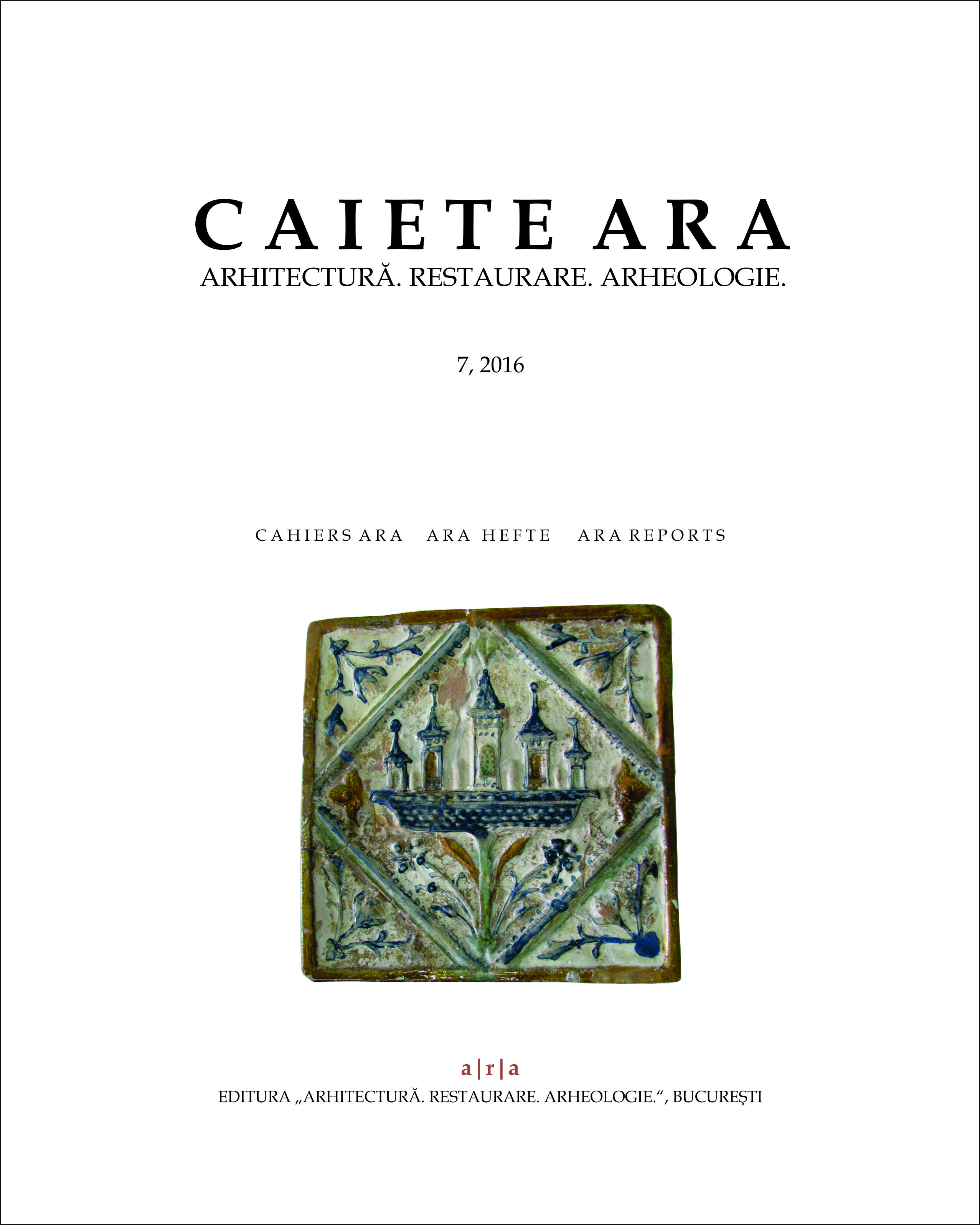 Dinogetia - About the first archaeological documentation of the ancient site from Bisericuța, Garvăn (com. Jijila, Tulcea County) Cover Image