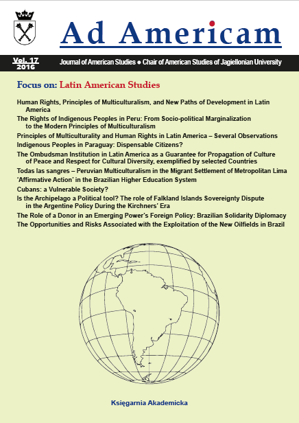 Human Rights, Principles of Multiculturalism, and New Paths of Development in Latin America Cover Image