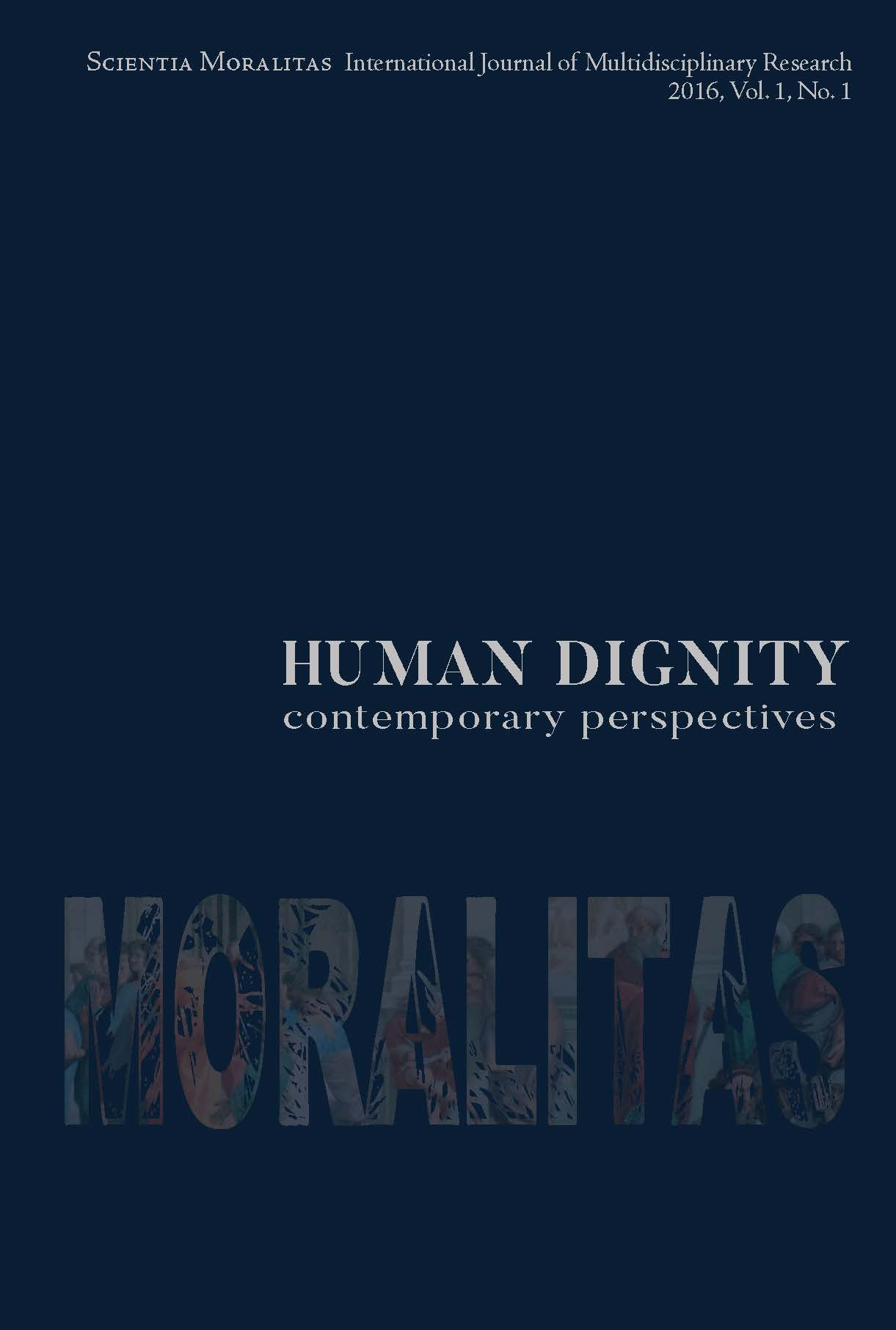 Plea for Human Dignity Cover Image