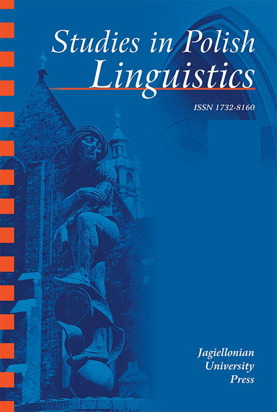 A Position on Classifying and Qualifying Adjectives Revisited Cover Image