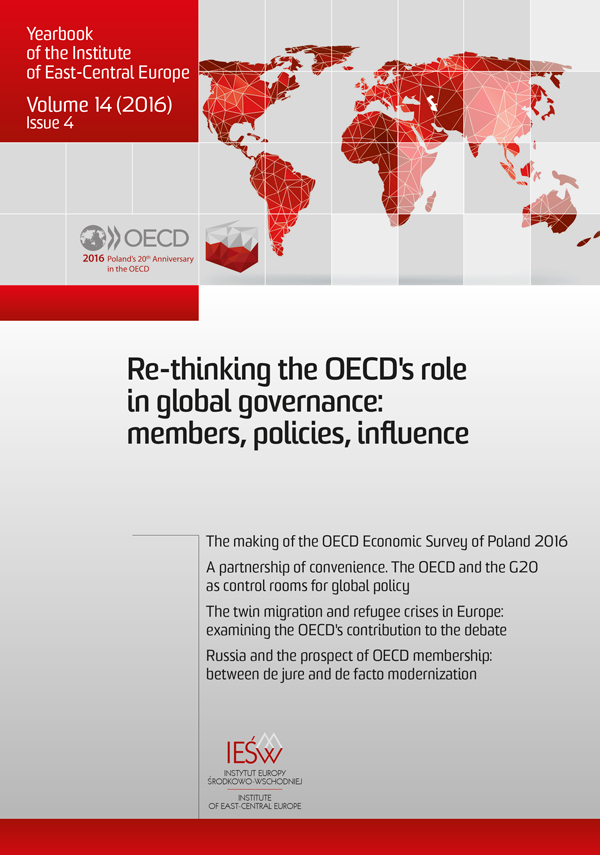 A partnership of convenience. The OECD and the G20 as control rooms for global policy