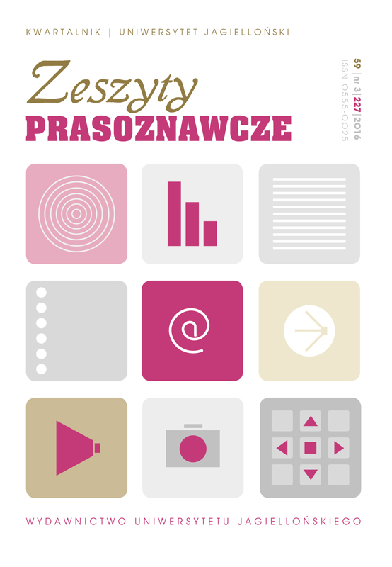 20 years of complaints: National Broadcasting Council and the Polish audience's feelings Cover Image