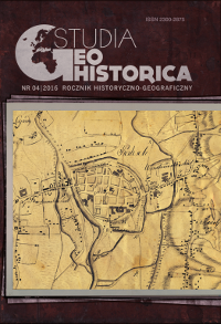 GIS as a Tool to Analyze the History of Silesia and the Changes in its Political (and Cultural) Geography Cover Image