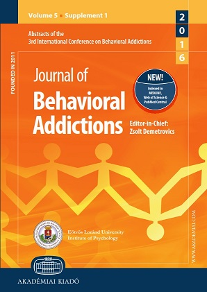 Abstracts of the 3rd International Conference on Behavioral Addictions