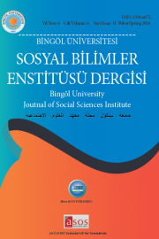 BELIEFS AND PRACTICES IN BINGÖL DURING THE TRANSITION PERIODS FROM BIRTH TO DEATH Cover Image