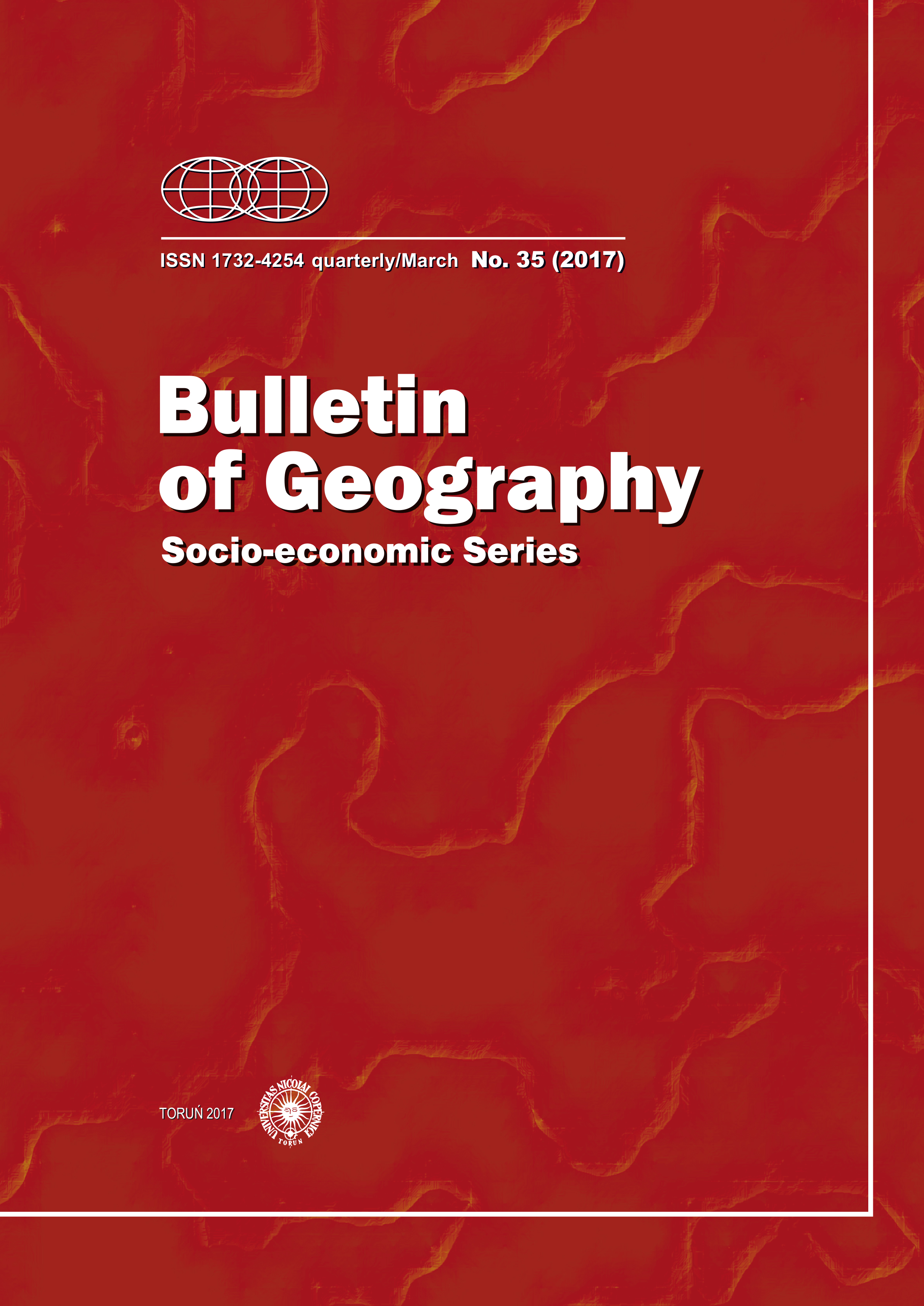 Geographical modelling based on spatial differentiation of fire brigade actions: A case study of Brno, Czech Republic Cover Image
