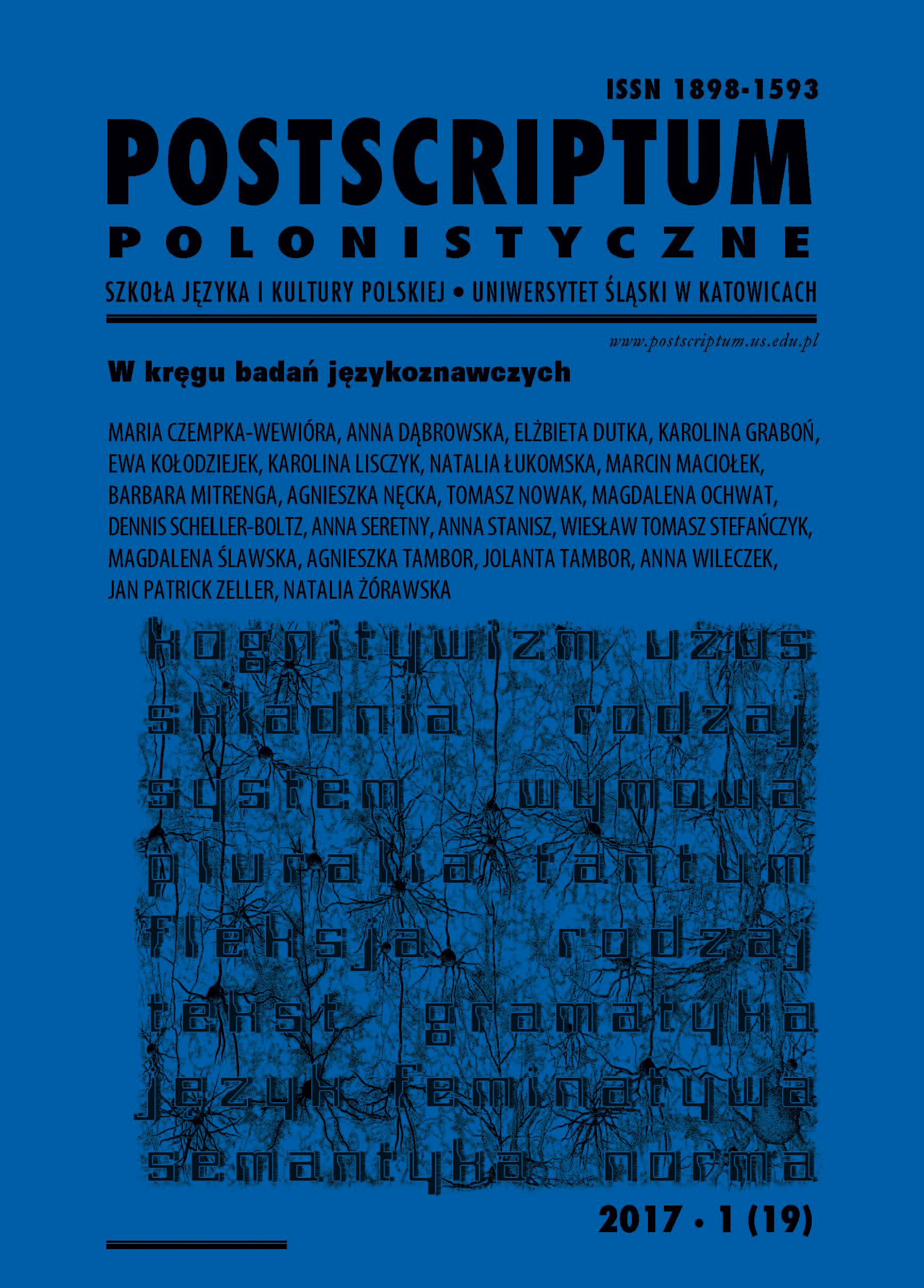 Silesian essay writing? Silesian school of essay writing? On Mariusz Jochemczyk's book, Facing tradition. Sketches in Silesian oikology Cover Image