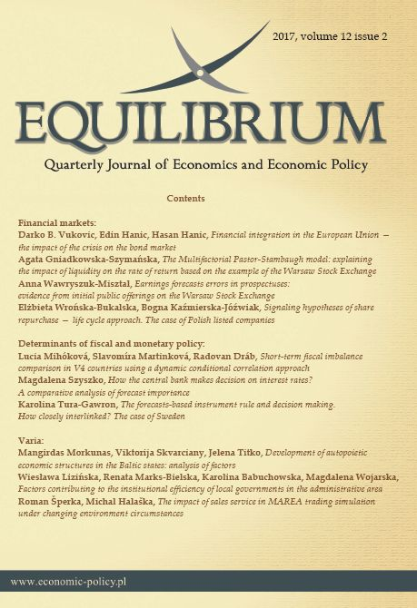 DEVELOPMENT OF AUTOPOIETIC ECONOMIC STRUCTURES IN THE BALTIC STATES: ANALYSIS OF FACTORS Cover Image