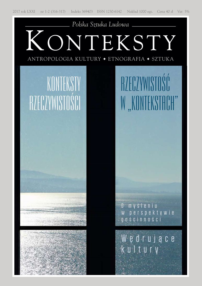 """Konteksty"" – History and Authors Cover Image"