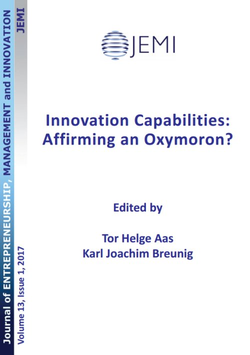 "A Conceptual Framework to Represent the Theoretical Domain of ""Innovation Capability"" in Organizations"