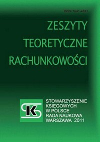 Academic aspects of management accounting and controlling in Poland since the 1990s