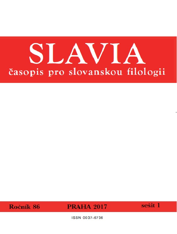 Toward the Designation of 'bear' in Slavic Cover Image