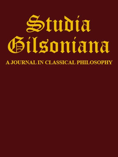"Étienne Gilson, Duns Scotus, and Actual Existence: Weighing the Charge of ""Essentialism"""