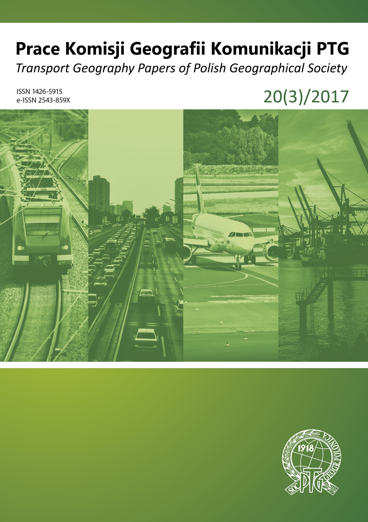 Perspectives of using railway in communication services of northern districts of Gdynia Cover Image