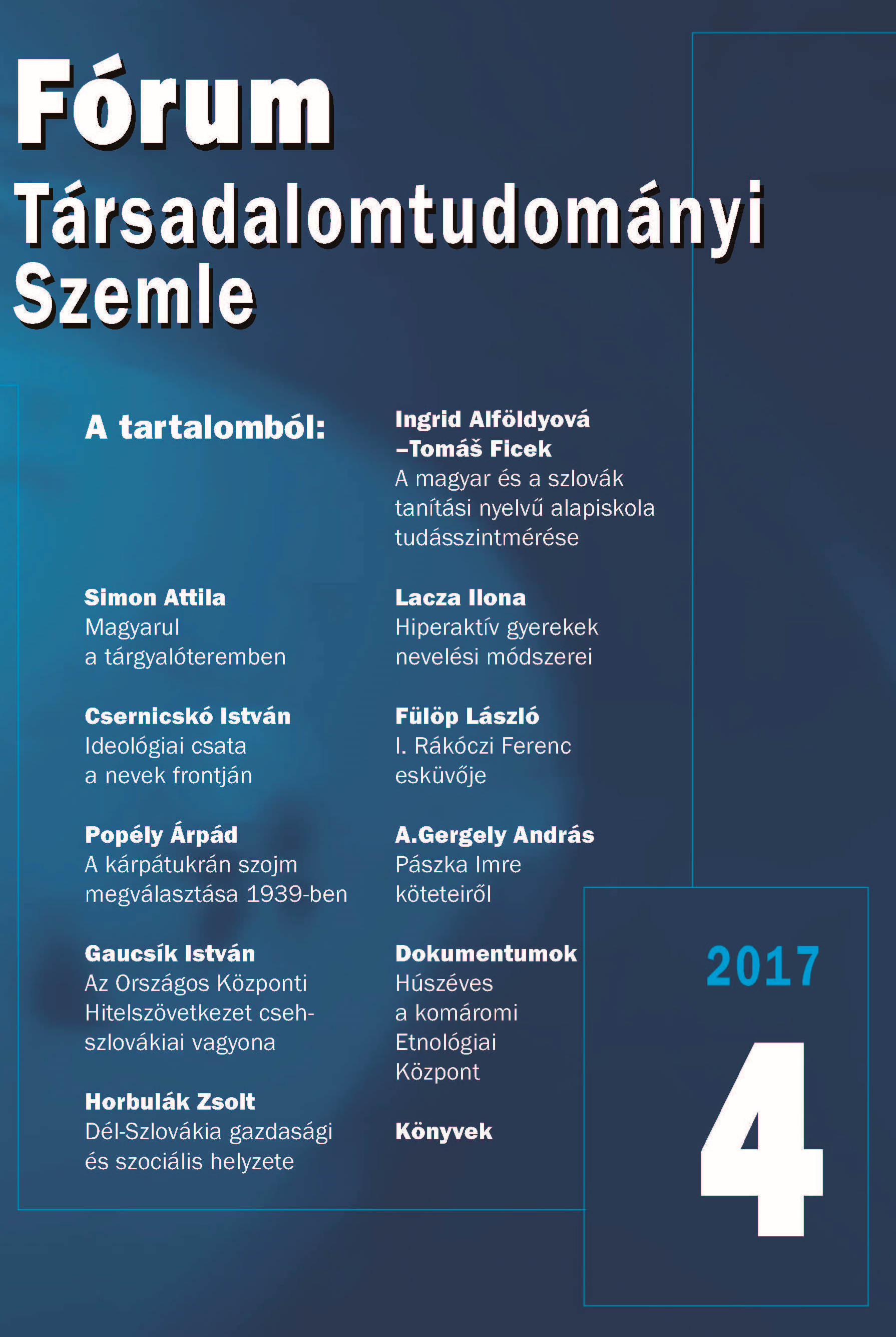 Comparison of Achievement Monitoring Results (5–2016 Testing) of 5th Grade Pupils in Primary Schools with Hungarian and Slovak as the Language of Instructio Cover Image