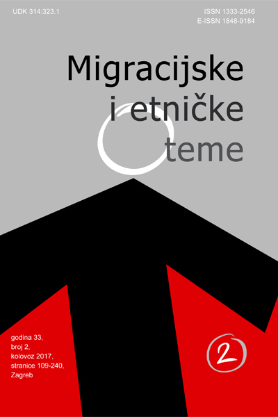"The Changing Spatiality of the ""European Refugee/Migrant Crisis"" Cover Image"