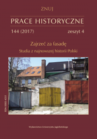 Mobilization of women into the workforce in the first decades of the polish people's republic. An analysis of the problem in the light of selected works from writing competitions organized in 1960s Cover Image