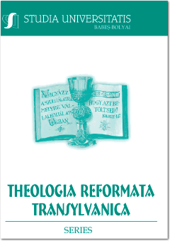 PASTORAL COUNSELING AS DEACONRY. REFORMED DIRECTION IN CONTEMPORARY PASTORAL CARE Cover Image