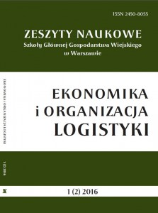 A logistics system in management of flows in the area of agribusiness
