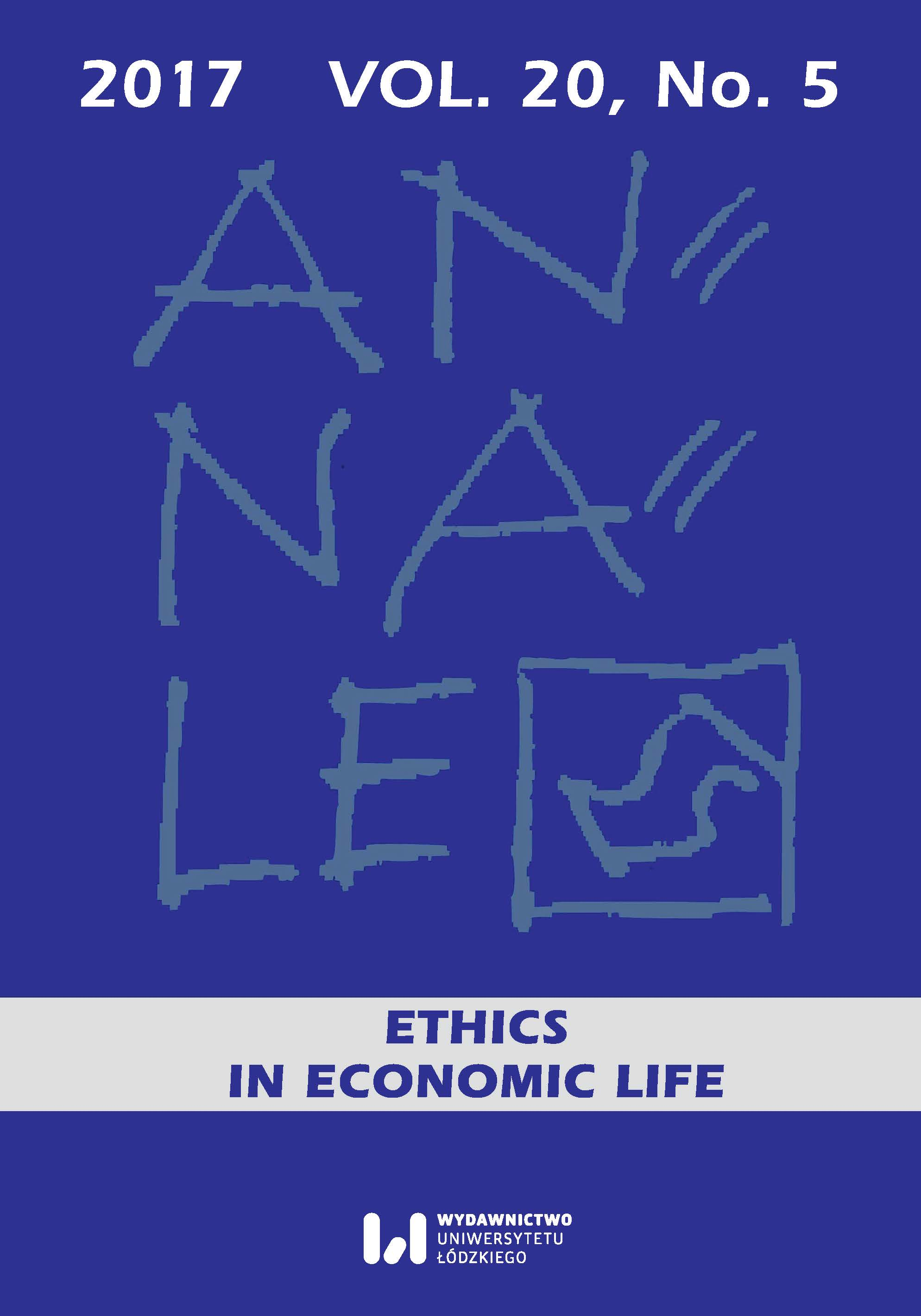 A moderate position in the debate on the possibility and moral utility of the ethical standards codification