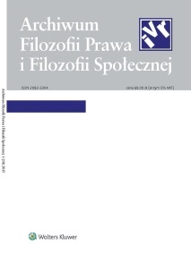 Critical analysis of a judicial discourse on the legal situation of homosexuals in the light of Article 18 of the Constitution of the Republic of Poland Cover Image