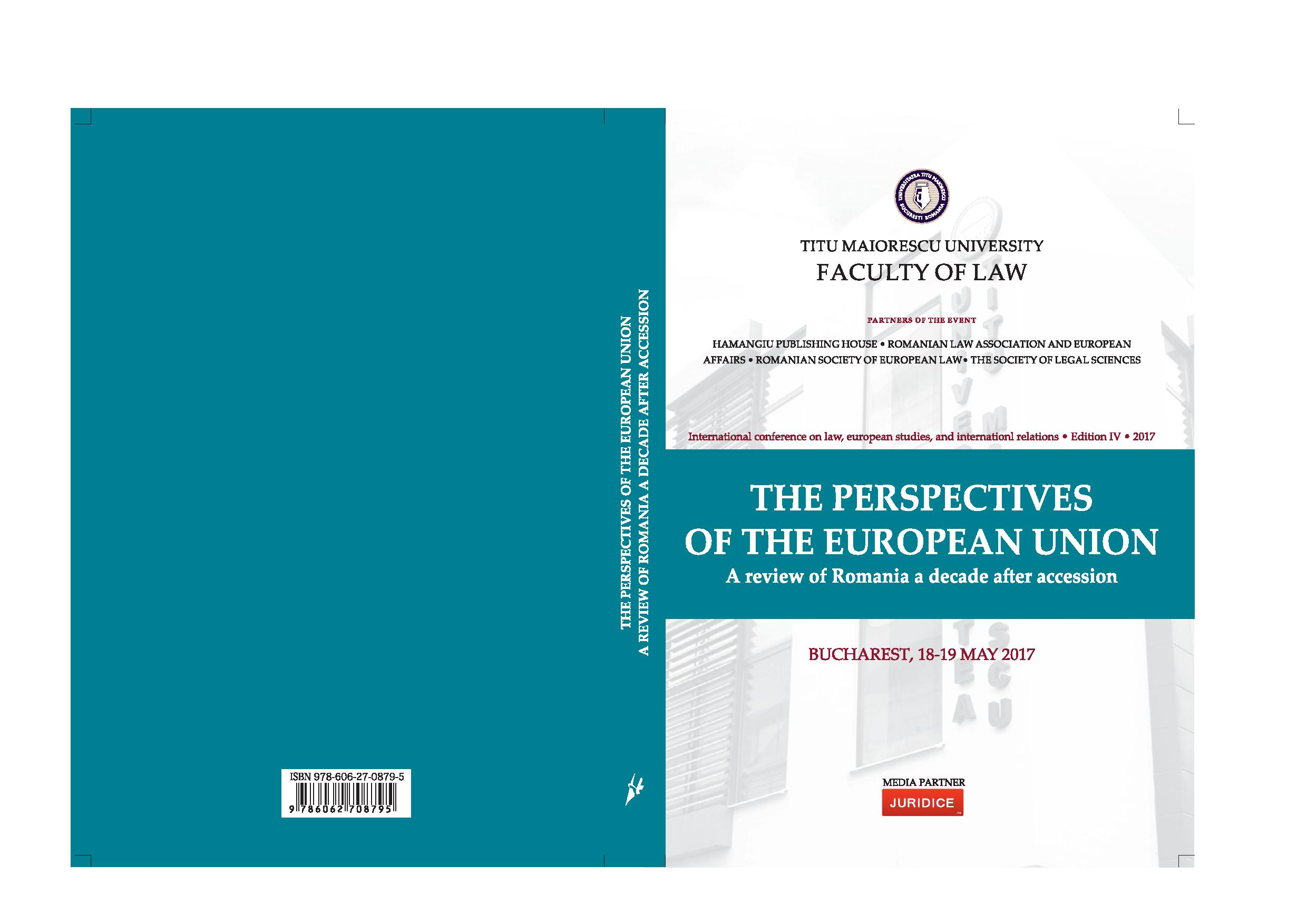 Consecration, at an european level, of  the information principle and public participation  in environmental decision making and access  to justice in environmental matters Cover Image