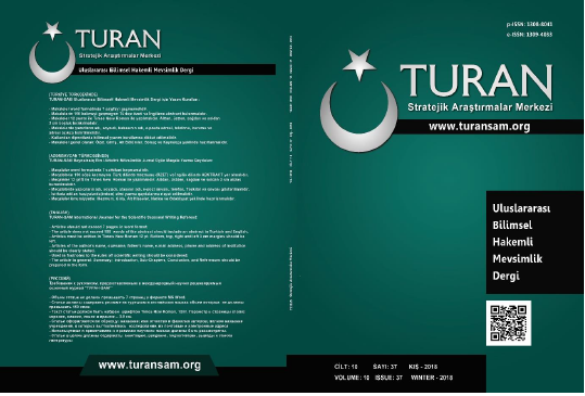 THE REFLECTION TO CULTURAL ALTERATION OF INTERNET AREA IN TURKEY Cover Image