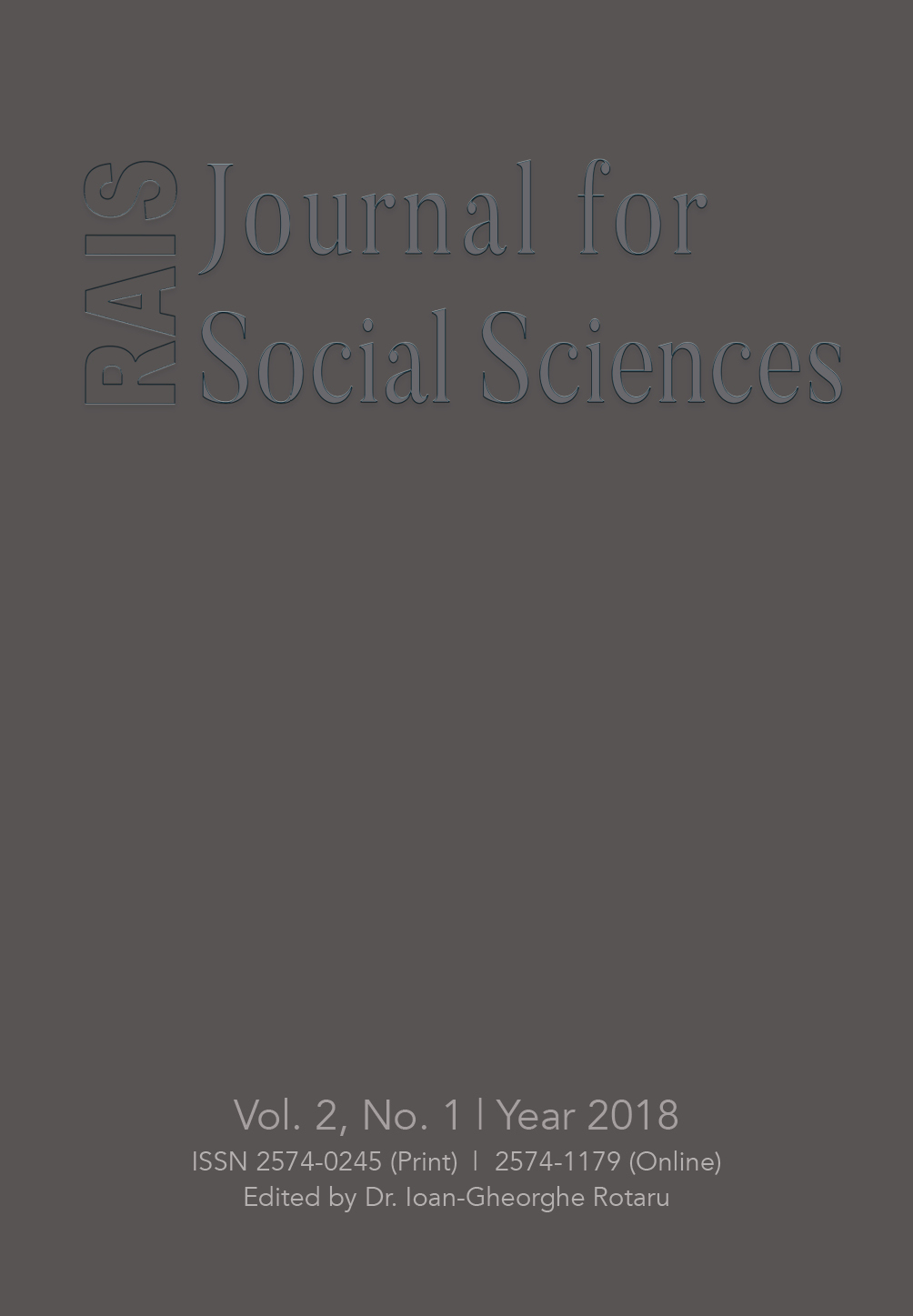The Status of the Social Sciences in Romanian Educational System Cover Image
