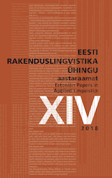 Acquisition of noun derivation in Estonian and Russian L1