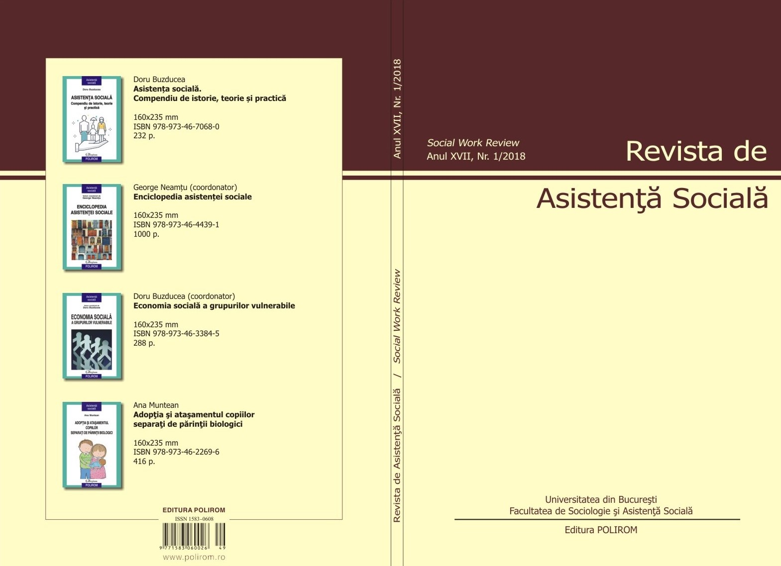 Social Dimension in Romanian Higher Education Institutions – Asymmetric Developments Cover Image