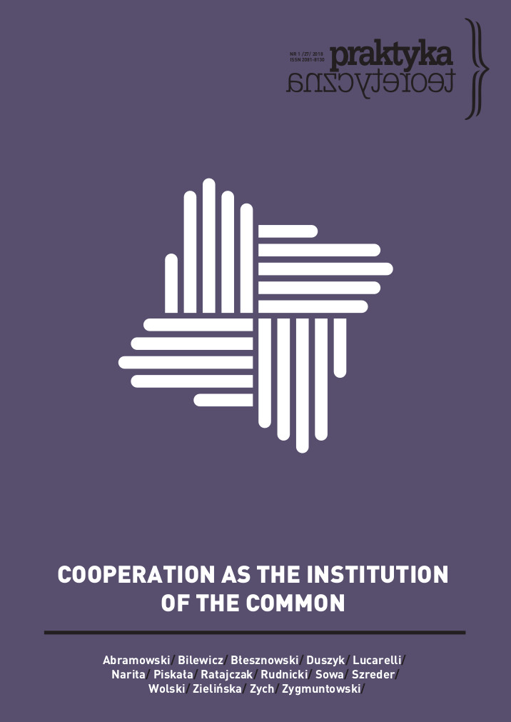 A Path to a Countermovement? Forms of Integration in Polish Consumer Cooperatives