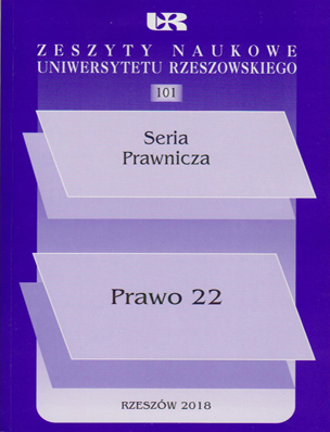 KILLING A MAN IN ROMAN AND POLISH CRIMINAL LAW. REMARKS ON CHANGES INTRODUCED IN TREATING THIS CRIME Cover Image